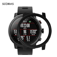 SCOMAS for Xiaomi Huami Amazfit Stratos 2 2S font b Slim b font Colorful Frame PC