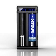 XTAR SC2 מקס 3A מהיר טעינה להחיל כדי 3.6/3.7V נטענת 18650/18700/20700/21700/22650/25500/26650 סוללות ליתיום