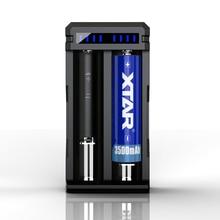 Xtar sc2 max 3a carregamento rápido aplicar a 3.6/3.7v recarregável 18650/18700/20700/21700/22650/25500/26650 baterias de iões de lítio