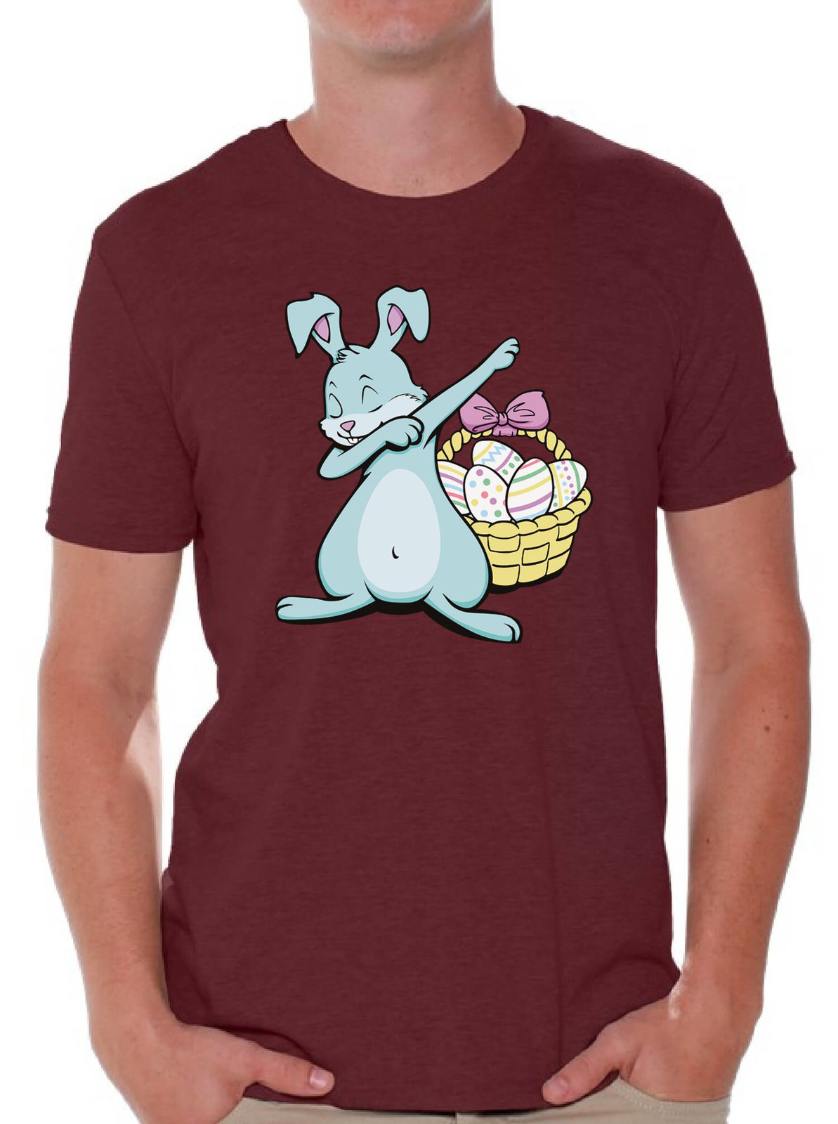 Dabbing easter bunny shirt easter shirt for men happy easter shirt dabbing easter bunny shirt easter shirt for men happy easter shirt easter gifts original tops novelty in t shirts from mens clothing accessories on negle