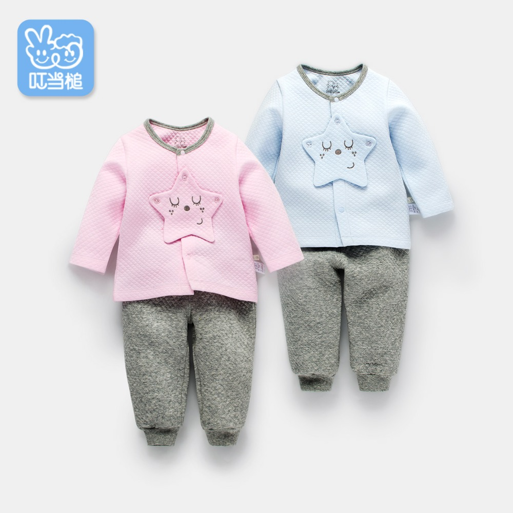 Dinstry 2018 New tops Spring & Autumn baby boy baby girl clothes newborn clothes infant clothing Free shipping
