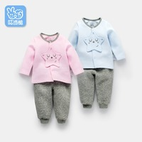 Dinstry 2018 New Tops Spring Autumn Baby Boy Baby Girl Clothes Newborn Clothes Infant Clothing Free