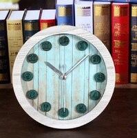3D stereo al fajr clock retro relogio de madeira reloj alarm home decor wood wooden watches saat table klok despertador mute
