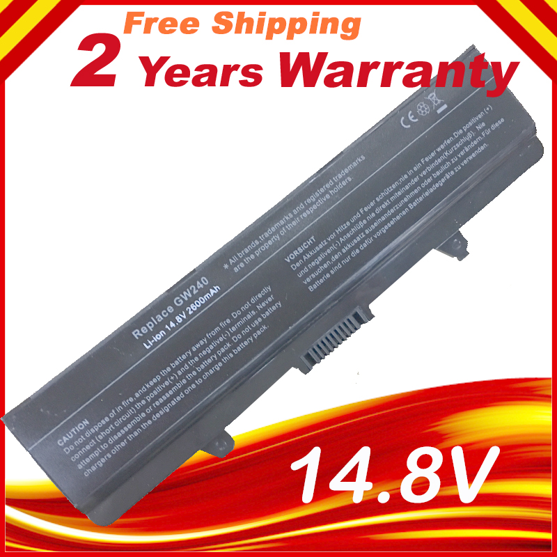 цена на 14.8V battery For DELL INSPIRON 1525 1545 1526 C601H GW240 CR693 D608H GW241 GP252 GP952 GW252 HP277 HP287