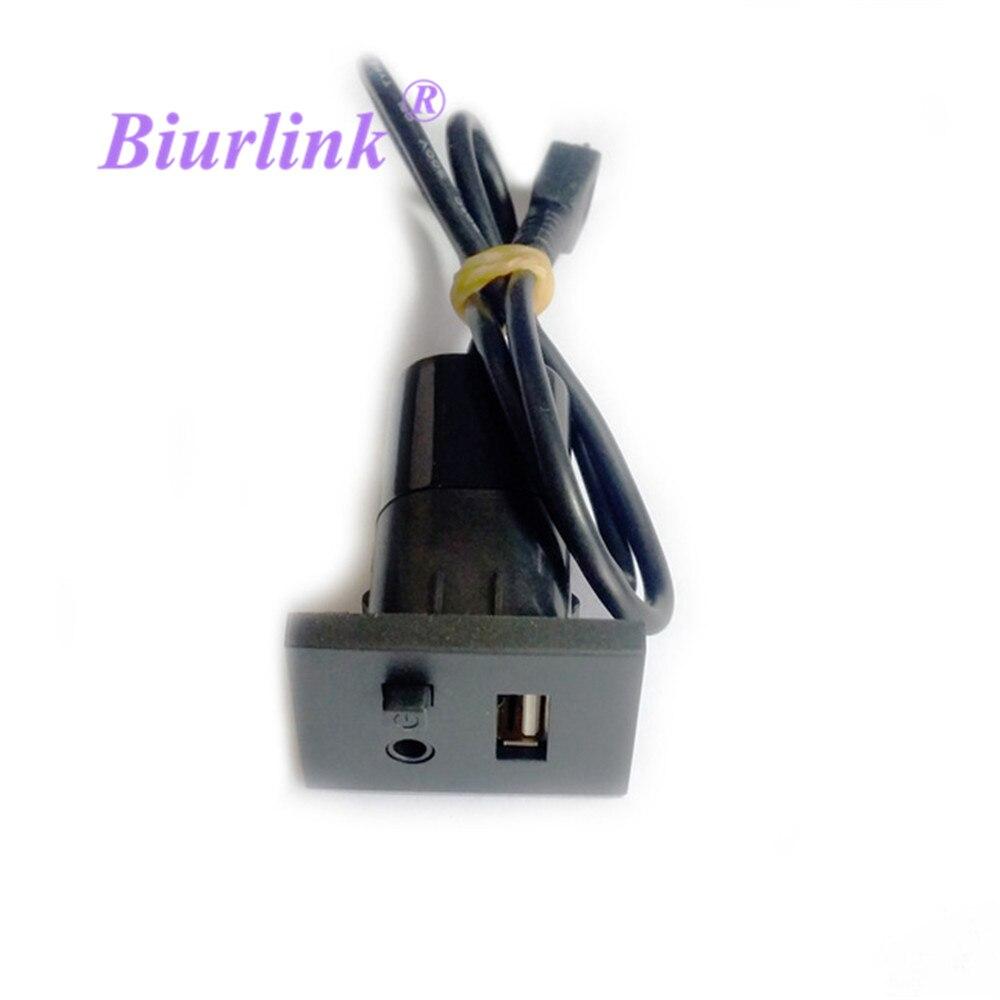 font b Car b font Panel USB font b Audio b font Slot Interface With