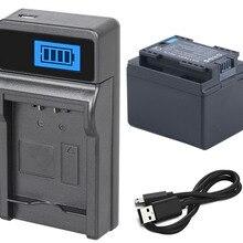 Аккумулятор+ зарядное устройство для Canon LEGRIA HF R86, R87, R88, R306, R406, R506, R606, R706, R806, HF M52, M56, M60, M506 HD видеокамеры