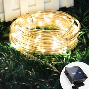 Light Lawn-Lamp Garden-Path Christmas Solar Outdoor Waterproof 10M Holiday 20M 6M
