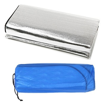 Waterproof Aluminum Foil EVA Camping Mat Foldable Folding Sleeping Picnic Beach Mattress Outdoor Mat Pad 3Size 100~200X200cm 1