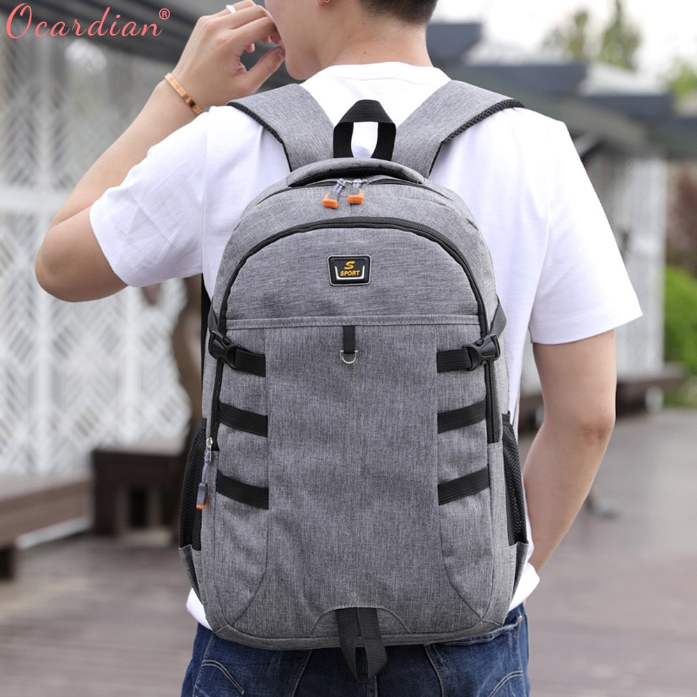 Ocardian Backpacks Unisex Large Capacity Travel School Backpack Women Backpacks Nylon Waterproof Backpack Men Jl 16 #5