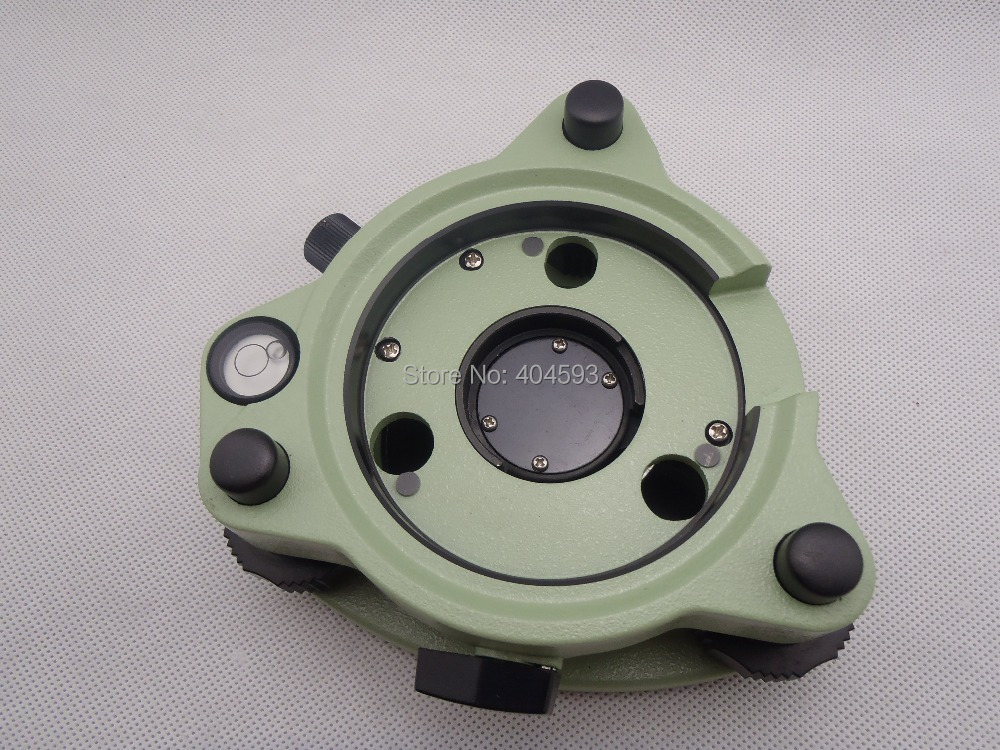 Green Tribrach with optical plummet for leica  total station