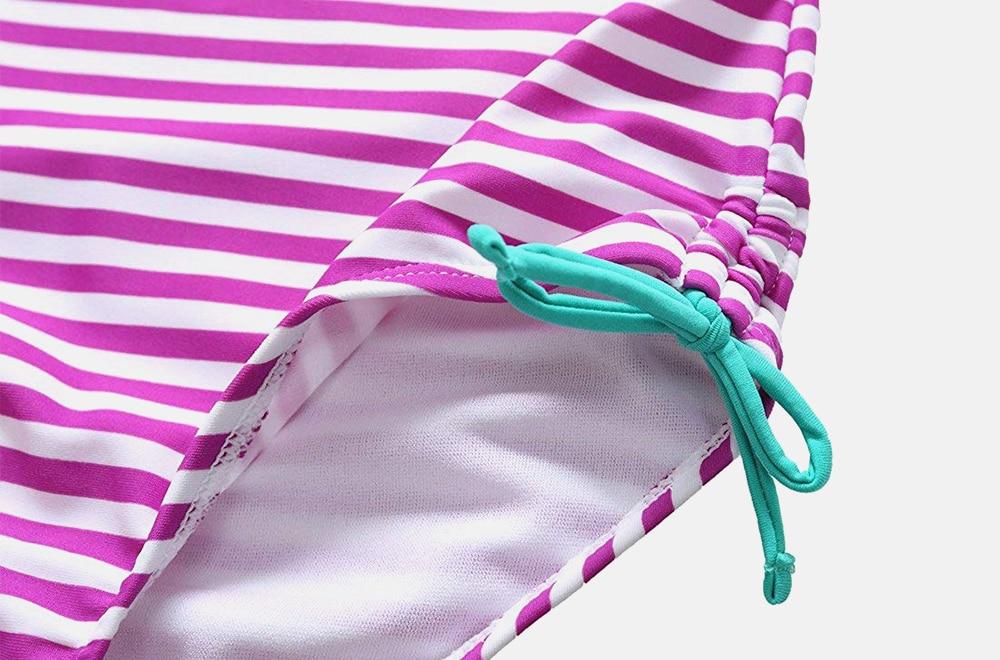 Привлекательные цельные купальники для девочек Купальники в
