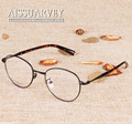Round metal frame Korean eyeglasses frame women men vintage fashion brand designer glasses clear lenses prescription oculos