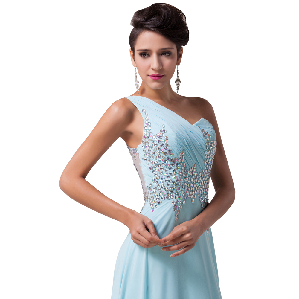 Wunderbar Lange Baby Blue Prom Kleider Zeitgenössisch - Brautkleider ...