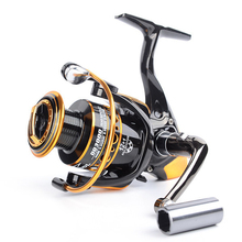 Deshion 12+1BB Black Fishing Reels Spinning Bass Tackles 2000-5000 Series Wheels