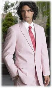 2017 Two Button Back Vented Light Pink Color Shade Summer Wool Blend Fabric Suits For Men Beach Wedding Tuxedos (Jacket+Pants)