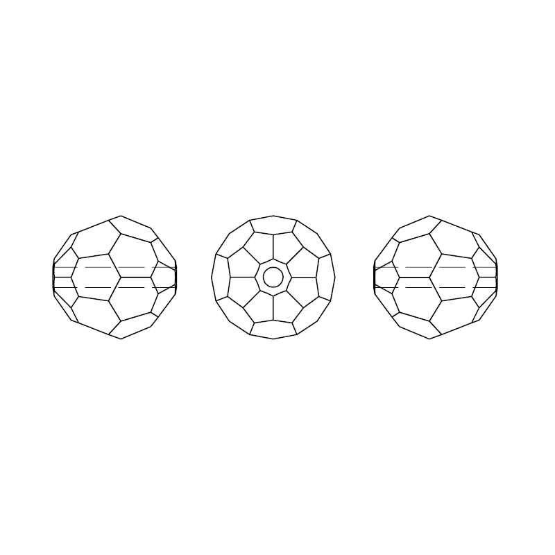 (1 pieza) Cristal de Swarovski 100% Original 5000 cuentas redondas atemporales HECHO EN Austria de diamantes de imitación para joyería de pulsera DIY
