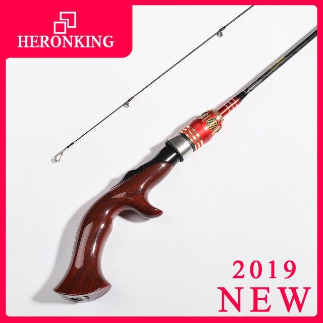 HERONKING 1.8m ul spinning rod 1.5-5g lure weight ultralight carbon spinning rods ultra light casting fishing rod vara de pesca