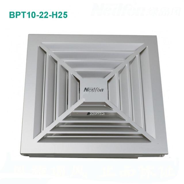 BPT10 22 H25 ventilator badkamer raam ventilator toilet wall stille ...