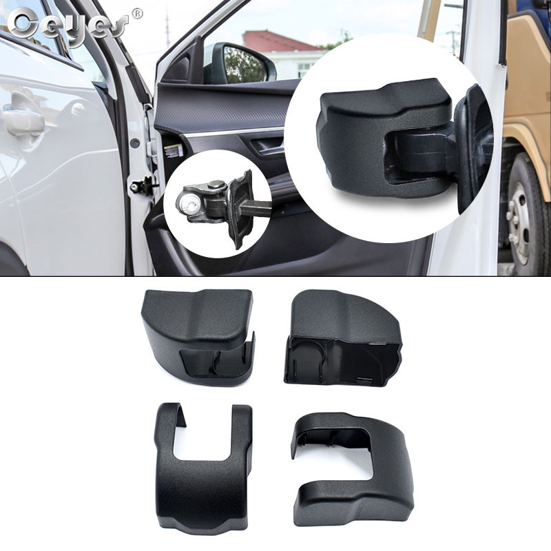 Ceyes Car Styling Door Stopper Limiting Arm Buckle Cover For Peugeot 206 207 208 307 308 406 407 508 2006 3008 Auto Accessories image