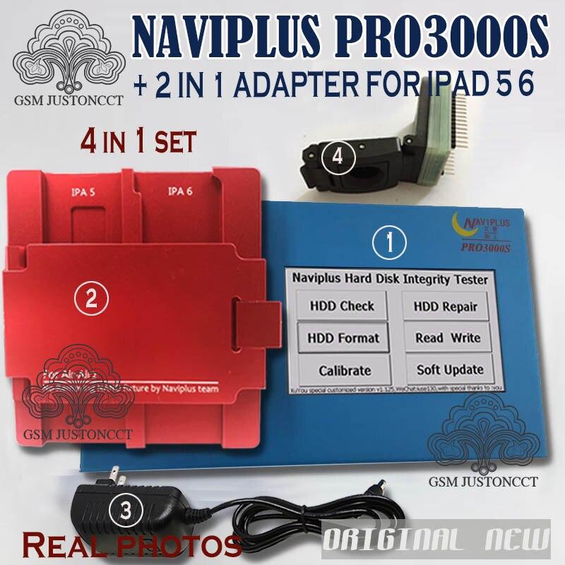 DHLTO Naviplus Pro3000s NAND outil de réparation Pro 3000 S NAND Flash lire écrire programmeur adaptateur pour iPad 2/3/4 5 6 pour iphone6 6 p - 3