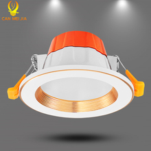 Canmeijia Led Downlight 220V 5W 9W Recessed Round Ceiling Lamp Kitchen Bedroom Indoor Home Decoration Luces Spot light Bulb
