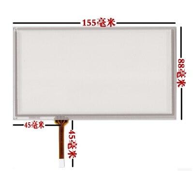 10 ピース/ロット Hsd062idw1 a20 A00 タッチスクリーンの手書き画面新しい 6.2 インチのタッチスクリーン 155*88 画面  グループ上の パソコン & オフィス からの タブレット液晶 & パネル の中 1