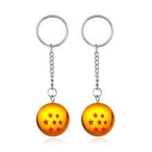 Брелок для ключей lzhlq с шариком 1 7 звезд цепочка хрустальным