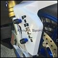 For BMW S1000R S1000RR/HP4 C600 GT/Sport, R1200GS R1200R R1200RT Motorcycle Front Fender Fork Protector Frame Slider Screw 6mm