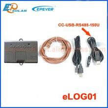 บันทึกข้อมูลและดาวน์โหลดบันทึก elog01 การตรวจสอบฟังก์ชั่น connec PC ผ่านสาย USB