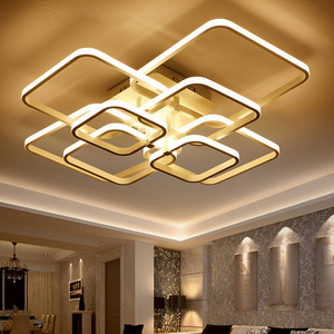 Image 4 - Moderne LED Kronleuchter Beleuchtung Für Wohnzimmer Mit Fernbedienung Schlafzimmer Wohnkultur Lampen Esszimmer Restaurant Leuchten Glanz