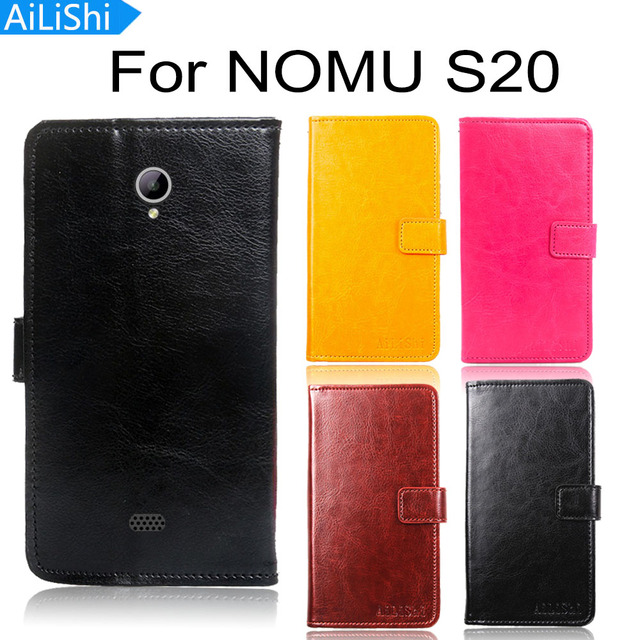 AiLiShi Leather Case For NOMU S20 Case Flip Protective Cover Phone Bag Wallet With Card Slot In Stock