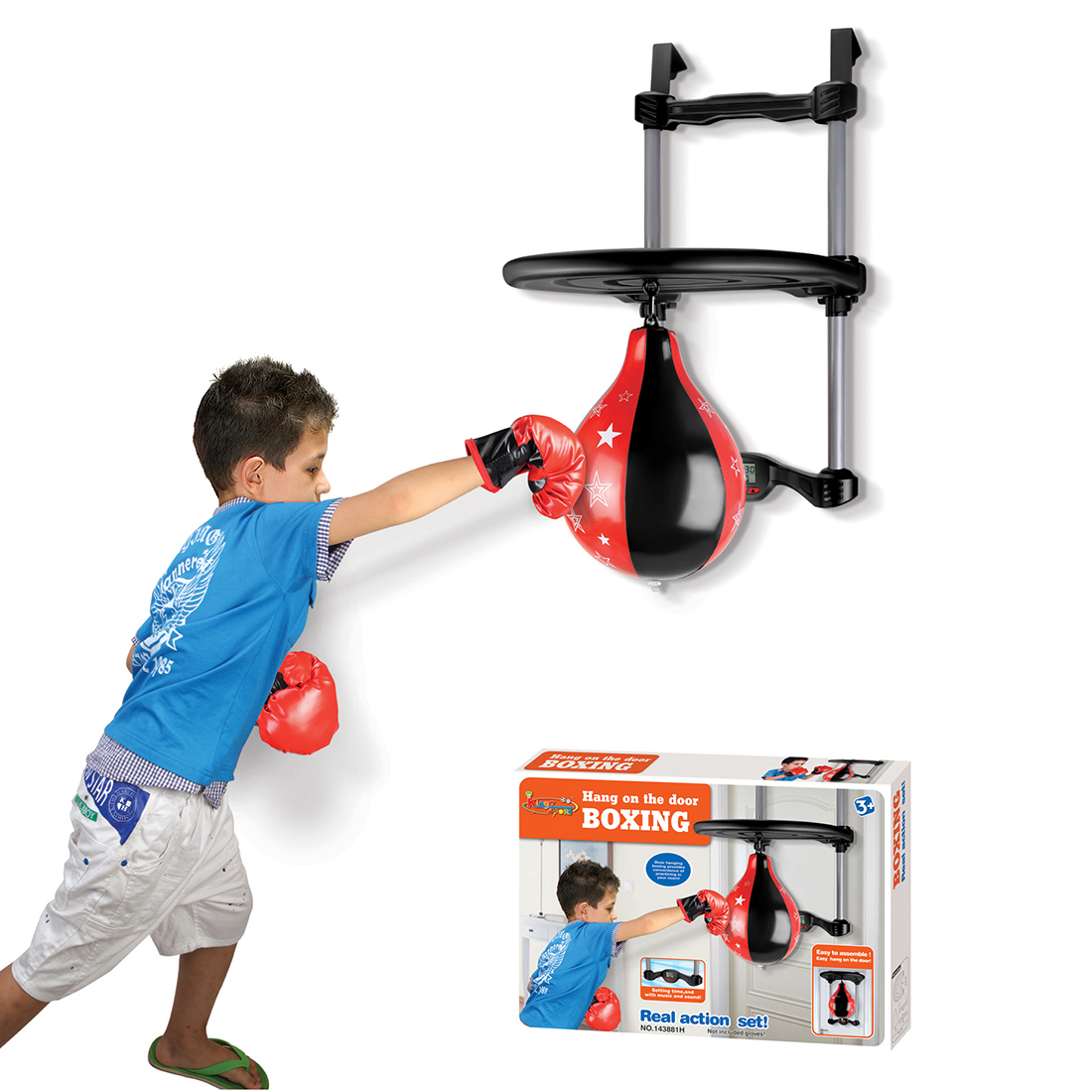 Rowsfire Pendant Type Children Outdoor Boxing Ball Toys For Sports DIY Body Improve Exercise For Kids Over 8 Years Old Hot Sale