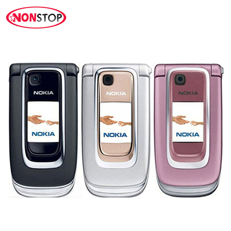 Nokia 6131 Unlocked Original Mobile Phone Russian/Arabic/Hebrew Keyboard Cheap GSM Camera FM Bluetooth Cell Phone Free Shipping