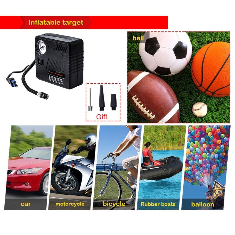 Pbear Brand Digital Display Car Air Compressor Digital Pistol Tire Inflator Digital Inflatable Pump Air 12v