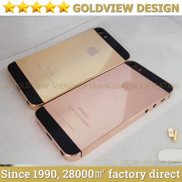 outlet store 6bc2e 96665 US $368.0 |Rose Gold Luxury Crystal Cover Case For iPhone 5s 5,Factory  direct 24k gold case for iphone 5,24k gold/rose gold for iphone 5-in Mobile  ...