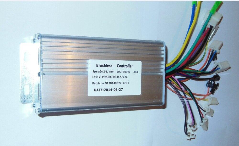 item greentime 36v 48v 500w 600w 30amax bldc motor controller electric bldc motor controller wiring diagram at creativeand.co