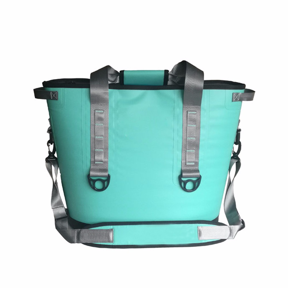GZLBO New mint green cooler bag  20 cans and 30cans and  Hopper TWO Portable Cooler bags mint planner
