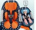 Atacado 10 pcs respirável Pad lugar 3-D malha auxiliar tanto para Stroller e assento de carro assento do bebê almofada frete grátis