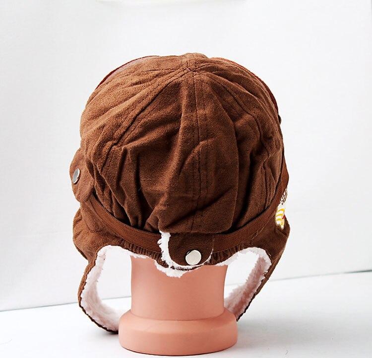 Su persona tiene que asegurarse de que antes de sobornar un Unisex  bombardero sombreros niño piloto aviador sombrero orejeras gorros niños  otoño invierno ... b70e21cc4904