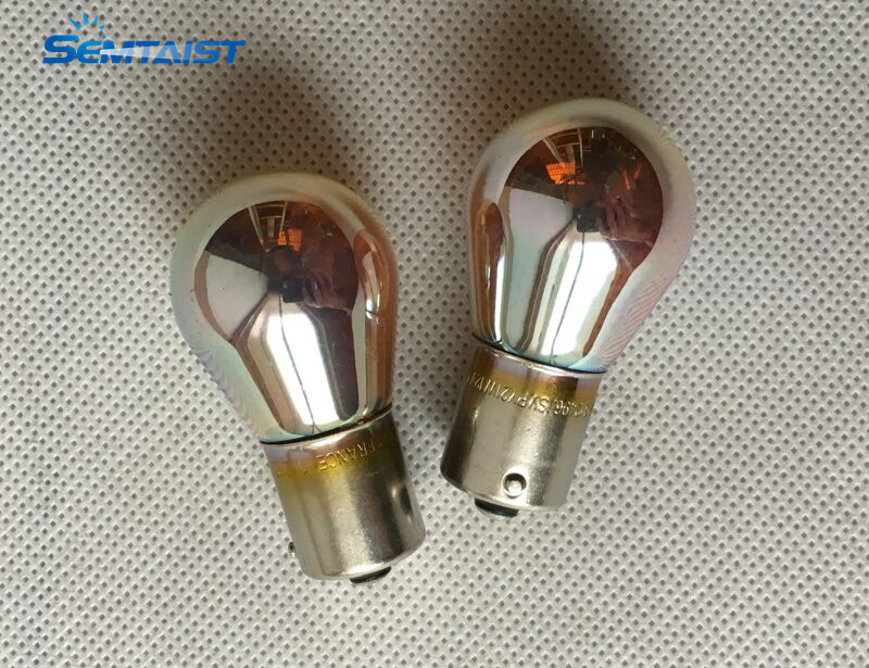 Bulbs Halogen BAU15S Silver-Vision PY21W Turning-Signal 2-X-Genuine 12V USED PH OEM Original