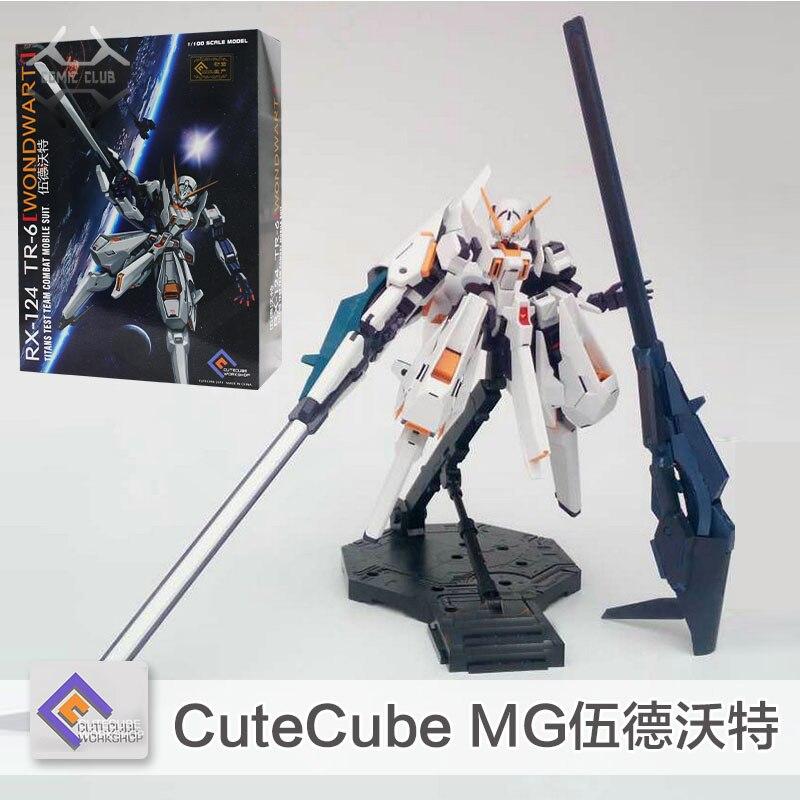 Komiks klub w magazynie CuteCube Gundam model MG 1/100 RX 124 TR 6 Wondwart komórka garnitur montaż dla dzieci zabawki w Figurki i postaci od Zabawki i hobby na  Grupa 1