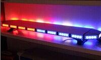 120cm 88W Led car warning lightbar,police emergency lights ,ambulance vehicle light,18flash,waterproof IP67