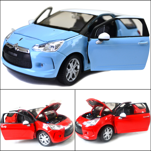 2013 New the Anime Soft monsters toys Wyly citroen welly ds3 exquisite alloy car model quality cars toy gift