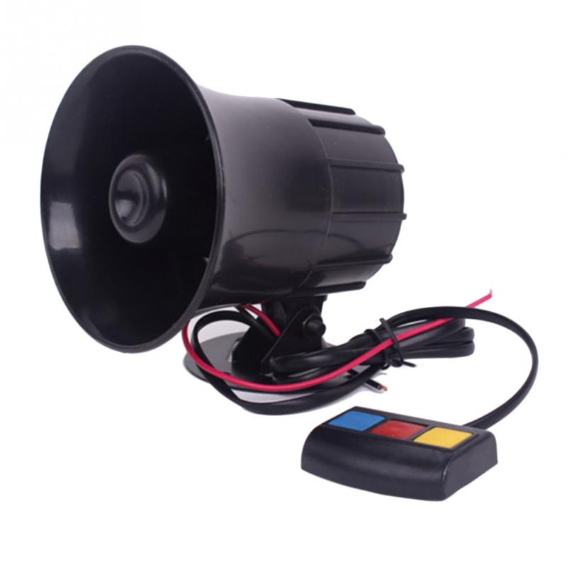 High Quality 3 Sounds PA System 12V Loud Horn Amplifier for DIY Car Auto Van Truck Motorcycle