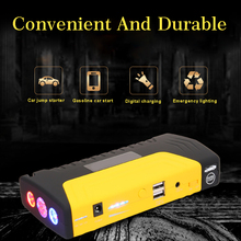 купить 68800mah 12v Auto Car Booster Battery Starter Emergency Starting Device 600A Peak Portable Jump Starter Power Bank 12v по цене 2502.57 рублей