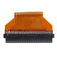 """Sabit disk adaptör fiş 40 pinli ZIF 50 Pin 50 Pin CF dönüştürücü Toshiba HDD için 1.8 """"40pin ZIF HDD SSD to Toshiba CF 50pin adapter2019"""