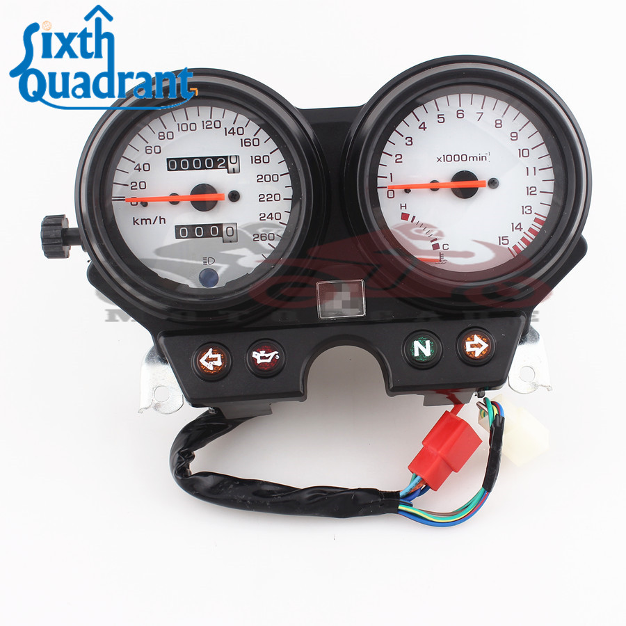 260km H Motorcycle Speedometer Tachometer Tacho Gauge Instruments 1996 Honda Civic Fuel For Cb600 Hornet 600 2002 97 98 99 00 01 In From Automobiles