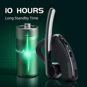 Image 4 - Walkie Talkie Wireless Headset PTT Bluetooth Earphone with Mic M Plug Wireless headphone Handsfree for Moto Ham Station