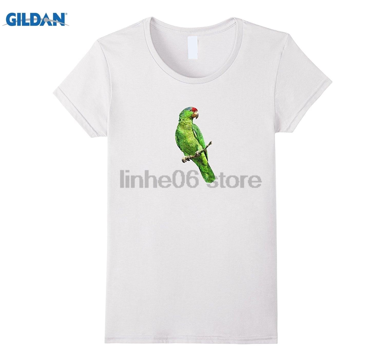 Gildan Green Amazon Parrot Bird T Shirt Icon Emoji Fashion Design T