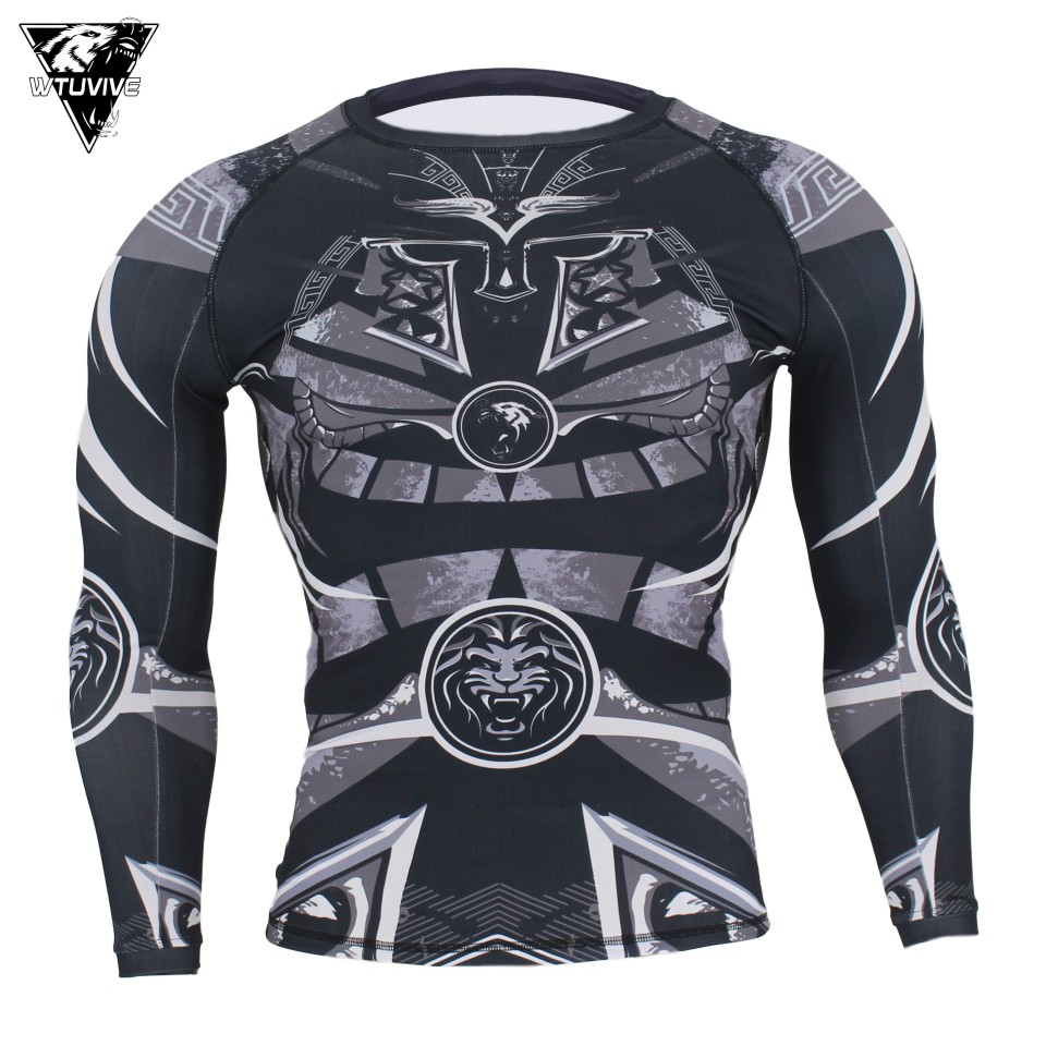 WTUVIVE MMA Samurai Armor Breathable Fitness Fighter Sweatshirt Tiger Muay Thai Boxing Jerseys Clothes Boxing Shorts Sanda Jaco